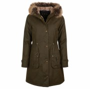 Barbour Hartwith Ladies Wax Parka