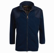 Barbour Mens Fleece Shooting Jacket Navy