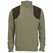 Barbour Zip Neck Waterproof Jumper
