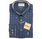 Barbour Bank Shirt Navy
