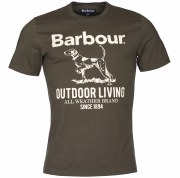 Barbour Outdoor T-Shirt Forest