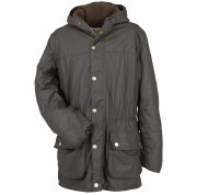 Barbour Winter Durham Mens Waxed Jacket