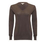 Barbour Classic V-neck Ladies Jumper