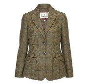 Barbour Clover Ladies Tweed Blazer