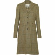 Barbour Foxglove Ladies Tweed Overcoat