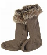 Barbour Fur Top boot Liners