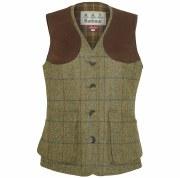 Barbour Weardale Ladies Tweed Waistcoat