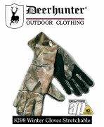 Deerhunter Winter Gloves Green