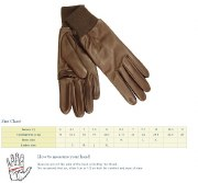 Dents Leather Shooting Gloves