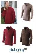 Dubarry Deane Mens Zip Sweater