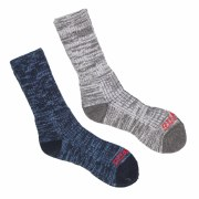 Grisport Mens Merino Wool Socks 2 Pair