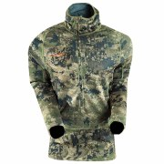 Sitka Core Heavyweight hoody Long sleeve T-Shirt ½ Zip