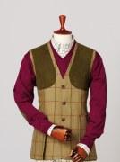 Laksen Glennan Tweed Shooting Waistcoat