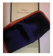 Laksen Silk Navy Handkercheif