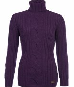 Barbour Womens Lambswool Roll Neck Jumper