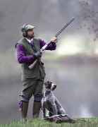 Laksen Moleskin Shooting Vest
