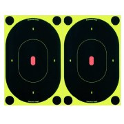 "Shoot N C 7"" Oval Targets"