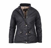 Barbour Oxer Ladies Short Style Waxed Equestrian Jacket
