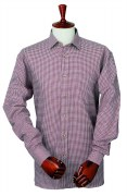 Laksen Roger Wool and Cotton Blended Mens Shirt