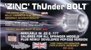 Thunderbolt non toxic pellets