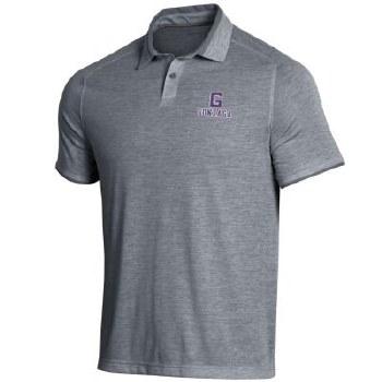 Golf Shirt UA Streaker Grey L