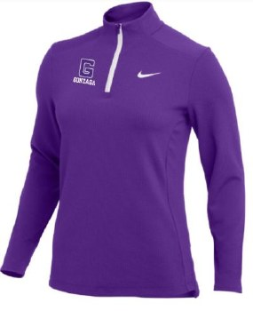 QTR Zip Ladies Nike Auth P S
