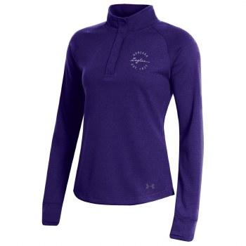 QTR Zip Lad UA Snap Purple S