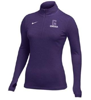 QTR Zip Nike Ladies Dry PUR L