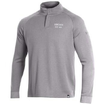 QTR Zip UA Snap Grey M