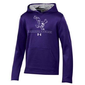 Sweatshirt UA Yth Arm Purple Y