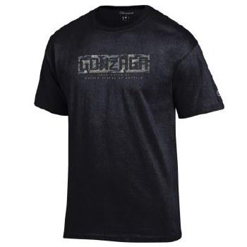 T Shirt Champ Camo Black 2XL