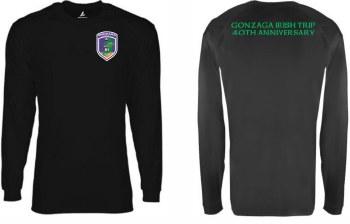 T Shirt Irish 40th Black M