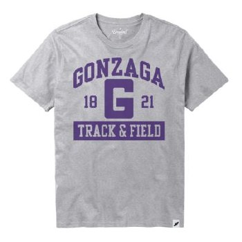 T Shirt Track & Field Grey XL