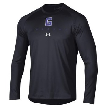 T Shirt UA L/S Tech Black L