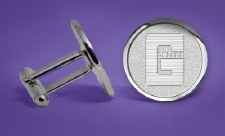 Cuff Links, engraved G