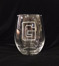 Glass Wine Stemless G 15 oz