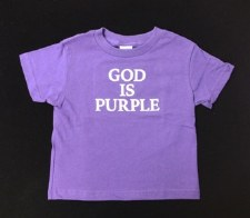 God is Purple Inf/Todd P 6mo