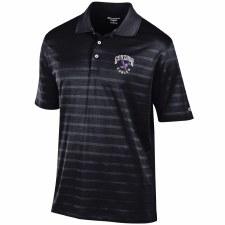 Golf Shirt Chp Text Black 2XL