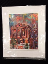 """St. Al's"" large matted"