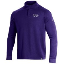 QTR Zip UA Snap Purple S