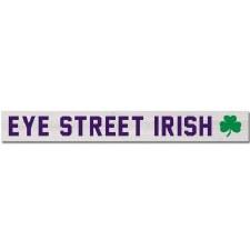 Sign Plank L2 IRISH