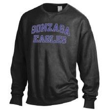 Sweatshirt Dyed Crew Black S