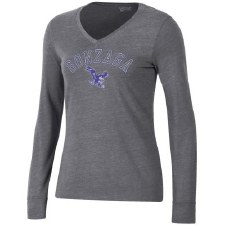 T Shirt Ladies L/S Tri Grey S