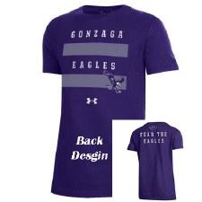 T Shirt UA Yth Fear Purple YS