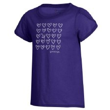 T Shirt Yth Ch Girly Purple YX