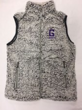 Vest Ladies Sherpa Grey S