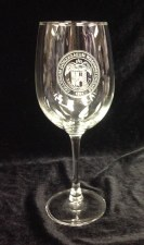 Glass Wine Stemmed Seal