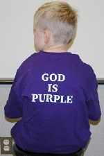 God is Purple Child P YS