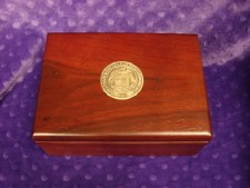 Cherrywood Box with Gonzaga Seal