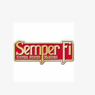 Buckle USMC EGA Semper Fi